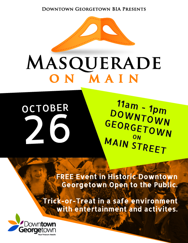 masquerade on main social media